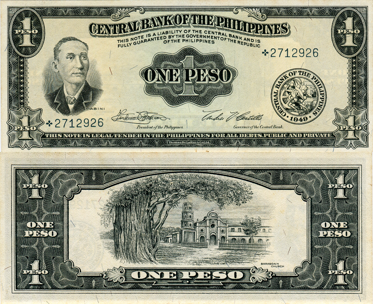 Philippines Coins And Notes